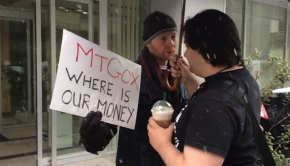 Mt.-Gox_bitcoin_protest_Mark-Karpeles